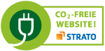CO2-freie Website - Strato